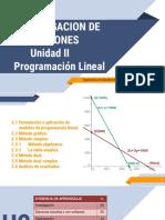 Unidad 2 Programacion lineal