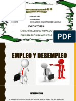 Diapositiva Empleo y Desempleo
