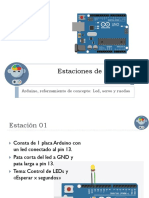Estaciones de Trabajo con Arduino y MBlock
