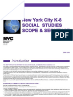 NYC K-8 Social Studies Scope & Sequence