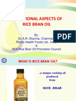 Rice Bran Healthy Oil