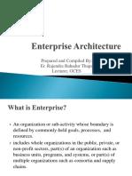 Lecture 1 Enterprise Architecture
