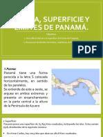 Forma, Superficie y Límites de Panamá Tema 2