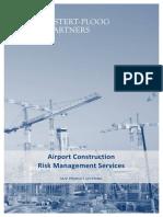 M2P Airport Construction Risk Management Services 2015