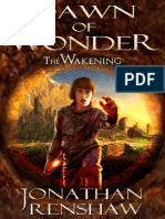 Jonathan Renshaw - Dawn of Wonder - (the Wakening Book # 1)