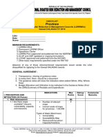 Kalasag Provincial DRRMC Checklist