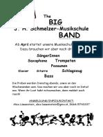 Big Band Flyer