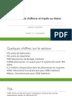 La pharmacie d'officine et impôts au Maroc