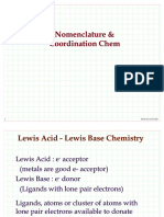 Basic Coordination Chemistry