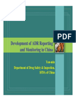 ADR Reporting in China