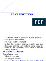 Flat Bed Kniting