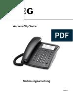 Ascona Clip Voice