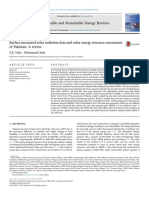 Surface Measured Solar Radiation Data and Solar Energy Resource Assessment