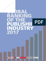 Global Ranking Publishing Industry 2017 Table of Content