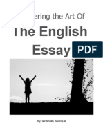 Mastering the Art of the English Essay
