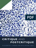 2017 CritiqueAndPostcritique Intro Anker&Felski