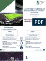 LFP_Première Ligue Baromètre d'Image Des Clubs 2018-2019