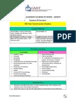 scheme of work - 5th year construction studies  new