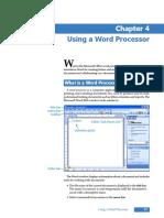 Using a Word Processor