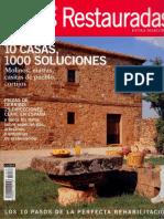 01 | CASA & CAMPO Casas restauradas | 10 pasos de la perfecta restauración | 32 | Spain | Globos Comunicación | Restauración casa en Asturias | pg. 74-83