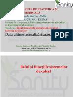 Curs 1 Statitica Si Informatică