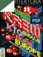 08 | Architektura | - | 164 | Poland | - | Ecoboulevard, Housing Madrid & Bcn, Refugio para un ex-jugador de rugby | pg. 22,66-67