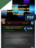 Programa Do Treinamento de Gerenciamento de Escopo e Tempo Em Projetos