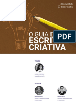 Guia de escrita criativa