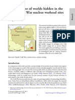 The destroyer of worlds hidden in the forest- Cold War nuclear warhead sites in Poland - G. Kiarszys.pdf