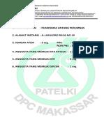 FORMULIR BIODATA ANGGOTA DPC PATELKI MAKASSAR.docx
