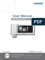 COMMAX CDV-43N(EN) product manual.pdf