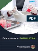 [2015] Extemporaneous Formulation 2015