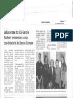 Novidades do mes de marzo do IES García Barbón