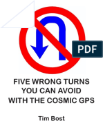 Five Wrong Turns You Can Avoid With the Cosmic GPS