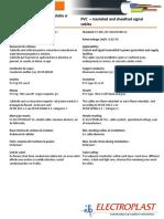 Electroplast CSYYF 06-1KV Fisa Tehnica
