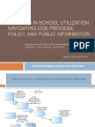 Navigating DOE Process, Policy, And Public 97 Version Final