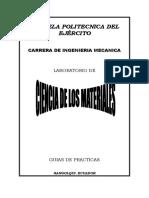 Prácticas de Laboratorio - De Ciencia de Los Materiales-2017