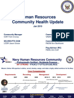 USN HR Health of the Force Brief