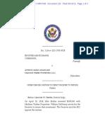 SEC 132 Order Denying Endris Funds