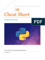 Python Cheat Sheet