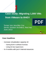 Tvvcox t 0230 Migrating 1000 Vms From Vmware to Rhev