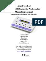 Amplivox240 User Manual