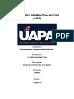 Tributaciones e Impuesto sobre la Renta 1 TAREA 1.docx