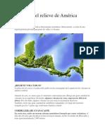 Cómo es el relieve de América Central.docx