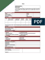 adverse drug reaction format
