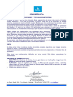 Preparacion Colonoscopia Larga Con FleetGlicol LARGA