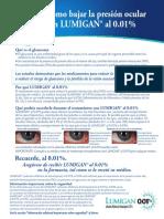 APC86EE10 Lumigan 0.01 Spanish Patient Info Tear Sheet.pdf