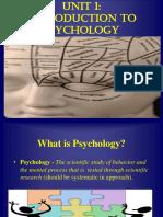 Psychology Unit 12