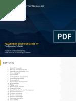 IITG Placement Brochure 2018 19 Recruiter Guide