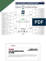 Updated 2019 NCAA tournament bracket